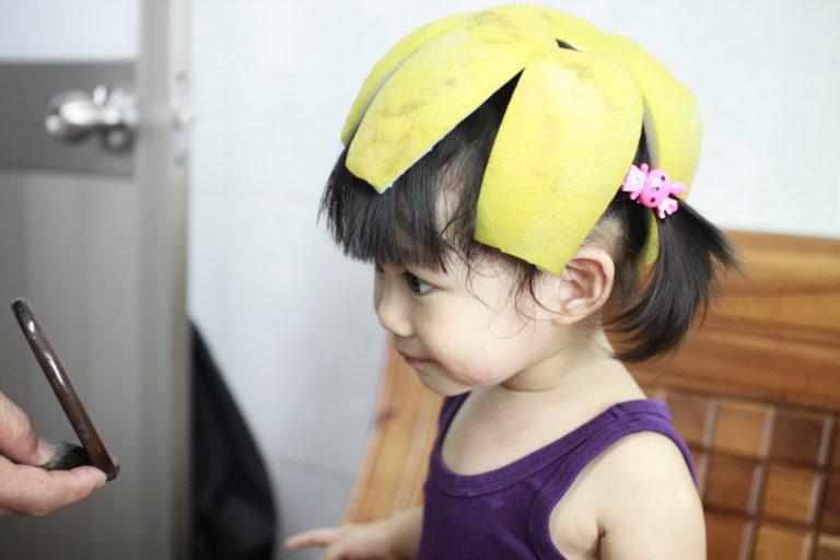 小幸福帶柚子帽