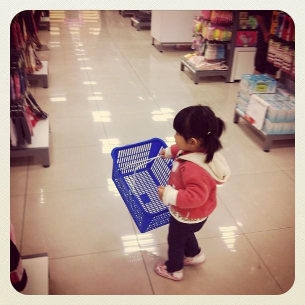 小幸福又出來shopping 了