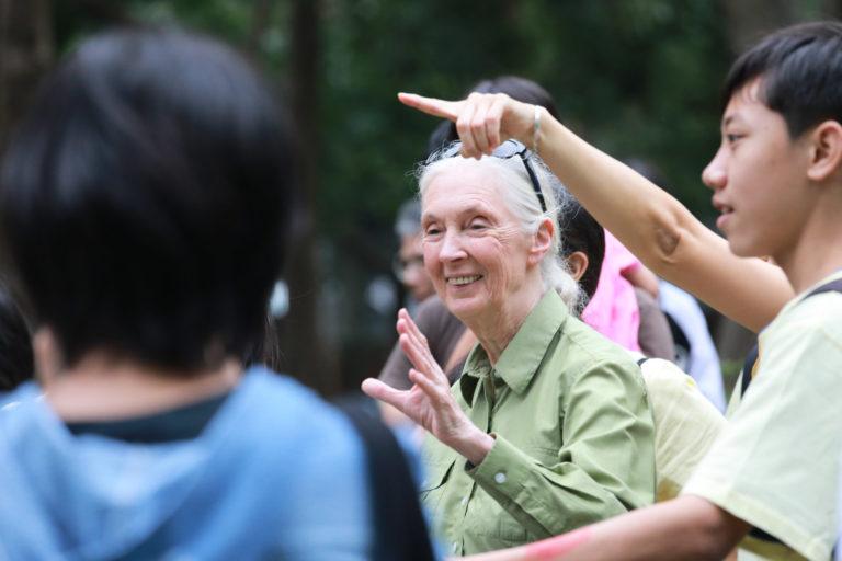 珍古德(Jane Goodall)
