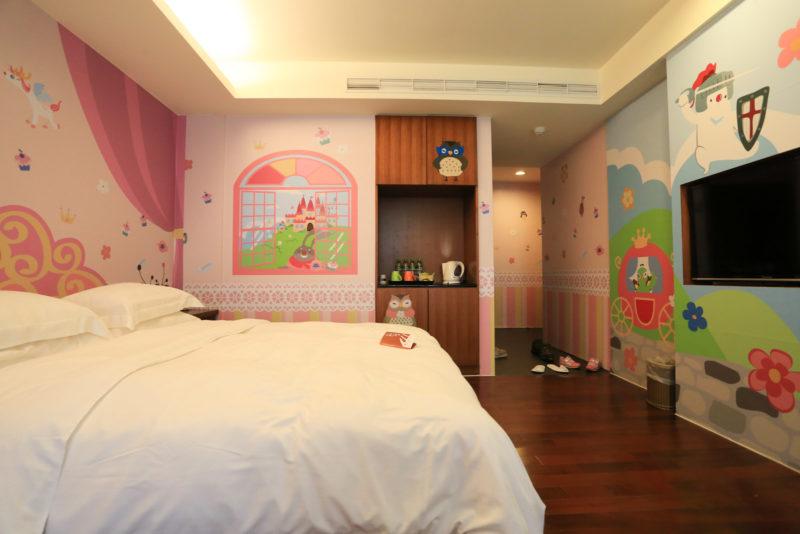 映涵渡假飯店 房間一隅