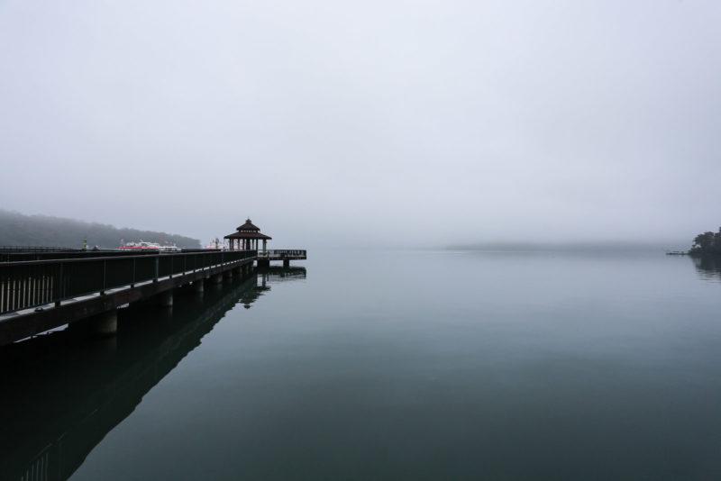 日月潭 伊達邵 碼頭
