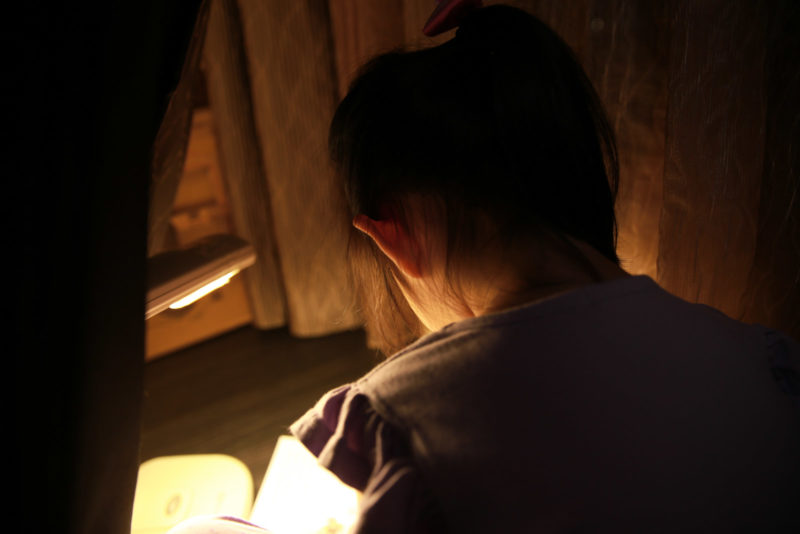 秘密空間裡的閱讀