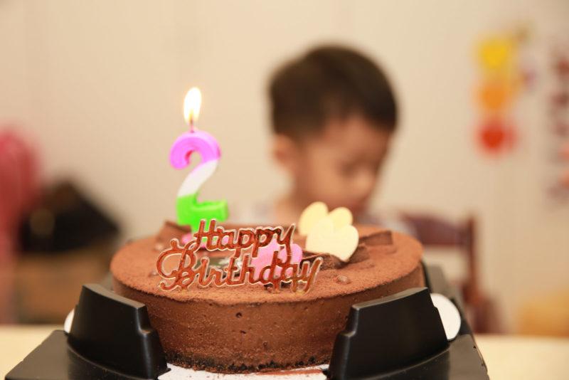 小平安,兩歲生日快樂!